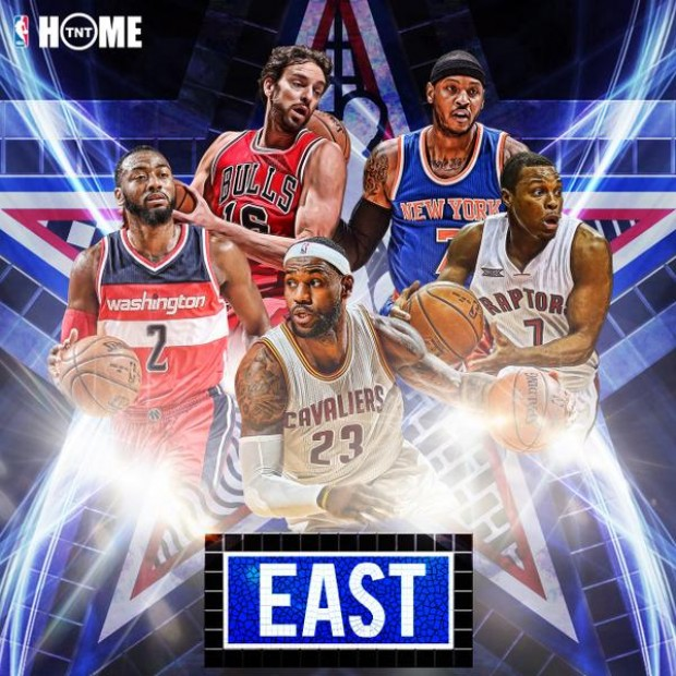 All-Star 2015 - Titulares de la Conferencia Este