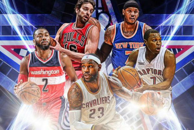 All-Star Game 2015 - Titulares de la Conferencia Este