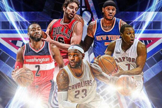 All-Star Game 2015 - Titulares de la Conferencia Este
