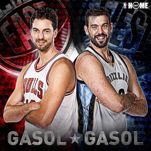 All-Star Game 2015 - Pau Gasol y Marc Gasol