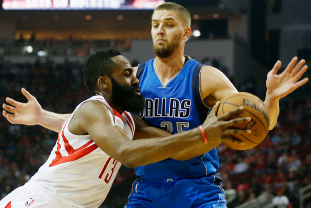 James Harden y Chandler Parsons
