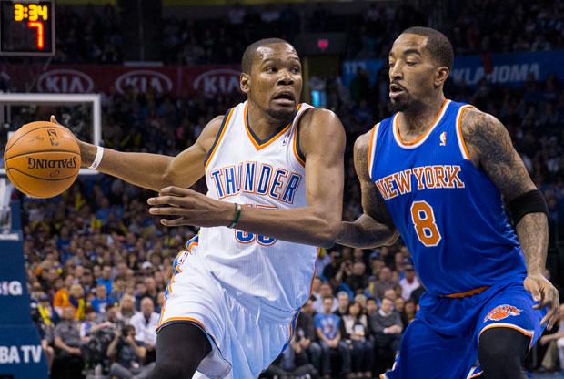 Kevin Durant, objetivo de New York Knicks