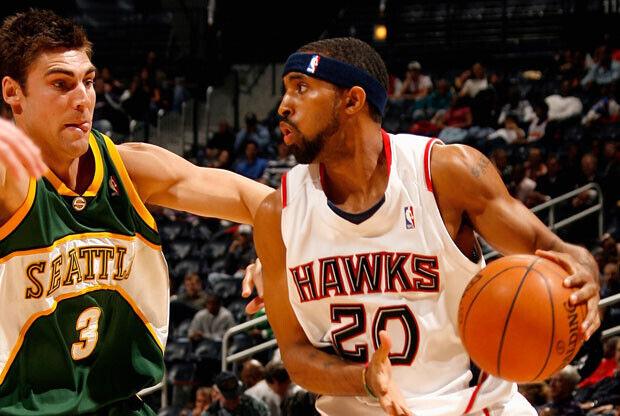 Seattle SuperSonics y Atlanta Hawks / Getty Images