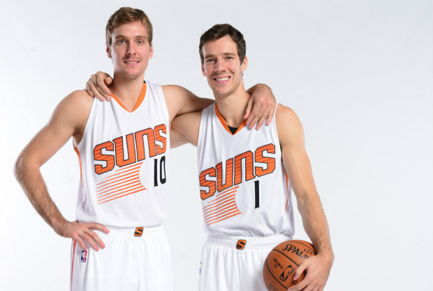 Los hermanos Dragic./ Getty Images