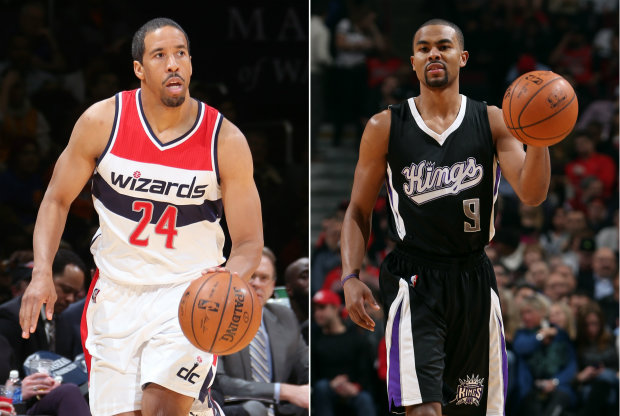 Andre Miller y Ramon Sessions./ Getty Images
