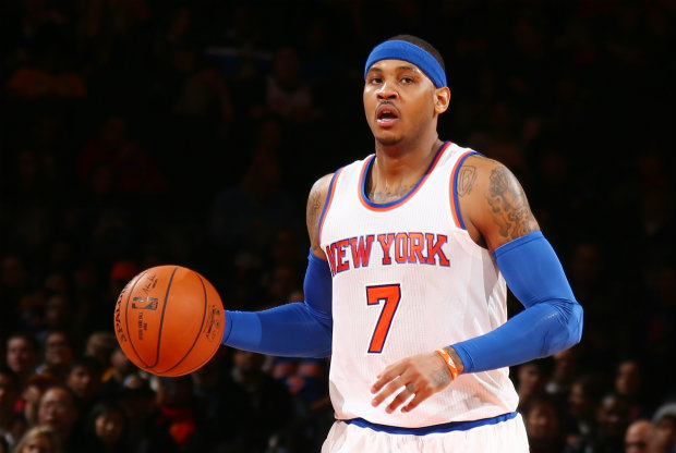 Carmelo Anthony./ Getty Images