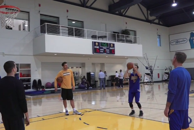 Stephen Curry vs. Steve Kerr