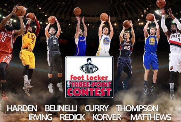 NBA ALL-STAR 2015 - Concurso de triples