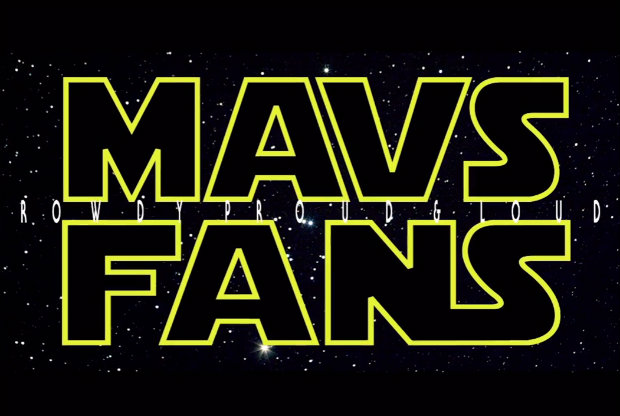 Mavs Fans - Star Wars