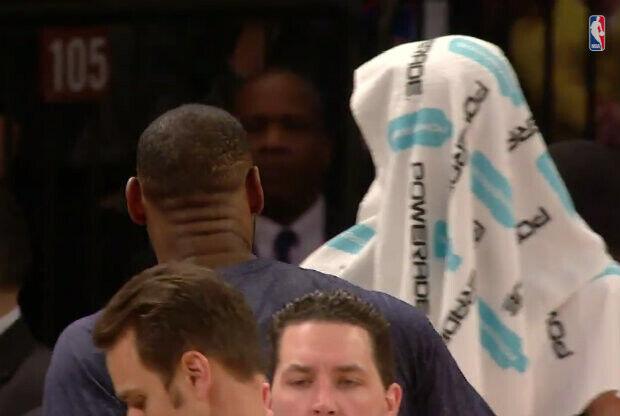 LeBron James y Kevin Love