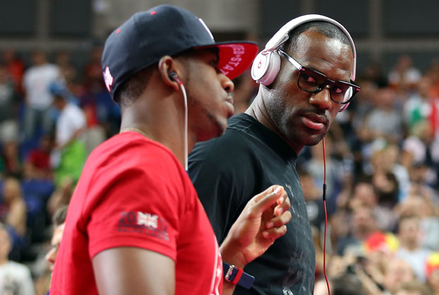 LeBron James y Chris Paul