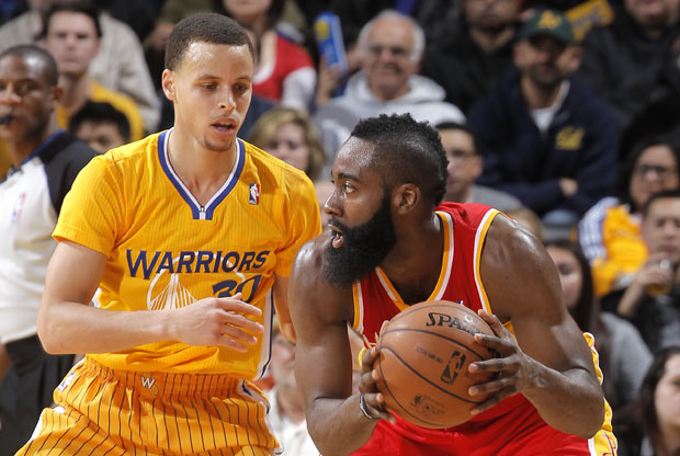 Stephen Curry y James Harden