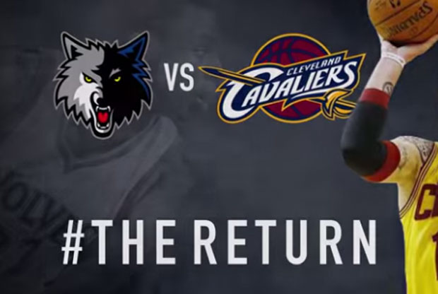 Vídeo The Return con Minnesota Timberwolves y Kevin Love
