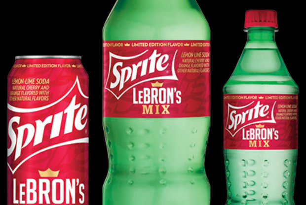 LeBron James - Sprite