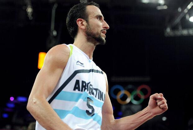 Manu Ginobili./ Getty Images
