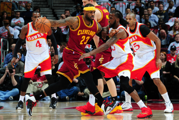 Cleveland Cavaliers vs. Atlanta Hawks./ Getty Images