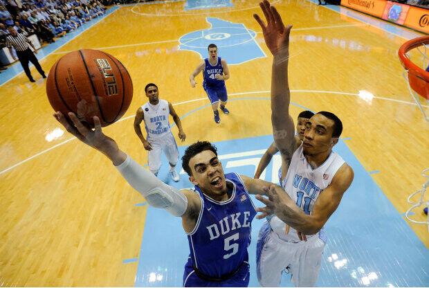 Duke vs. North Carolina./ Getty Images