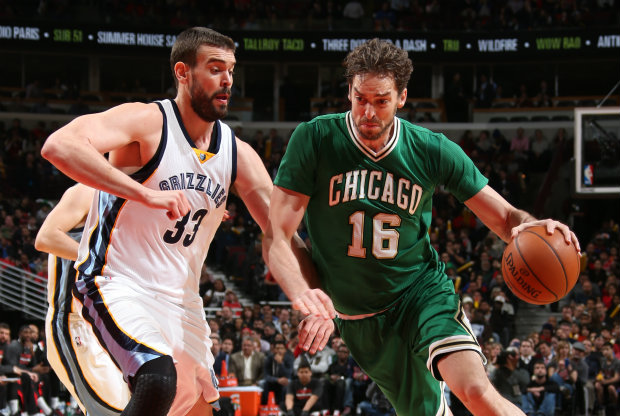 Hermanos Gasol./ Getty Images