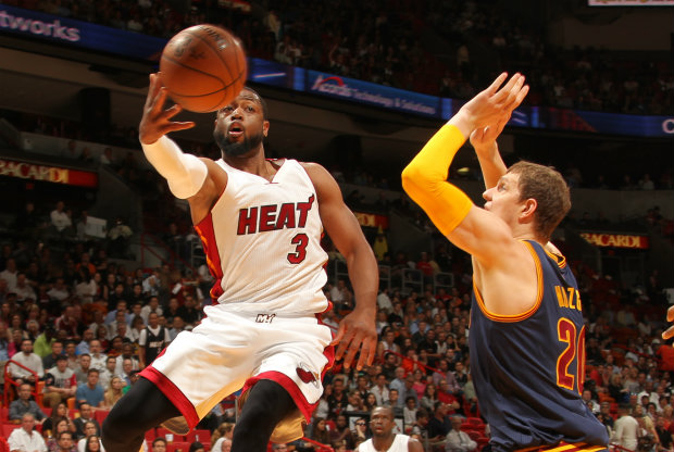 Dwyane Wade./ Getty Images