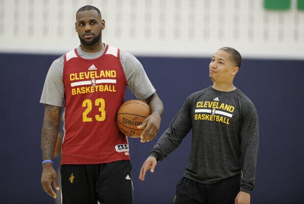Cleveland Cavaliers - Entrenamientos