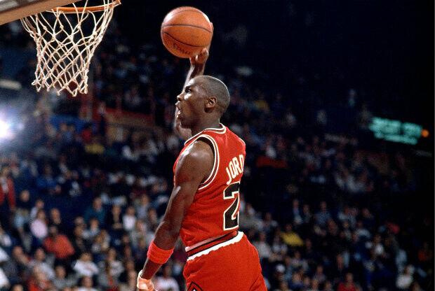 Michael Jordan./ Getty Images