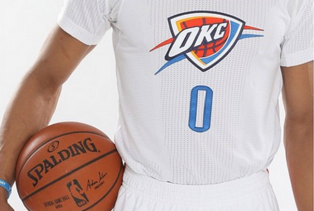 Uniforme alternativo Oklahoma City Thunder