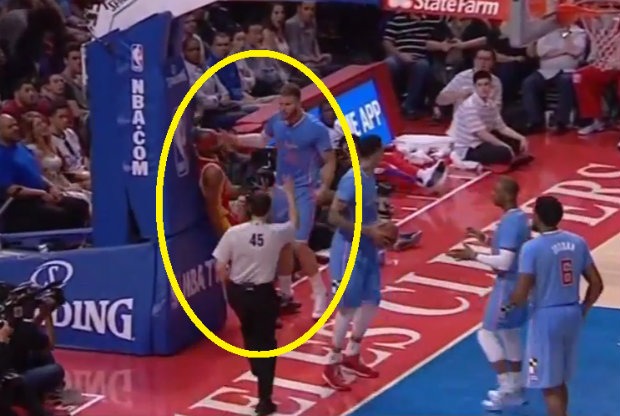 Blake Griffin y Corey Brewer
