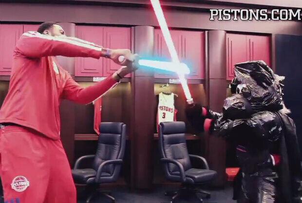 Andre Drummond y Hooper - Star Wars