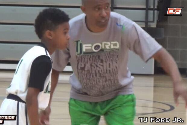 T.J. Ford Jr., genes NBA con sólo nueve años