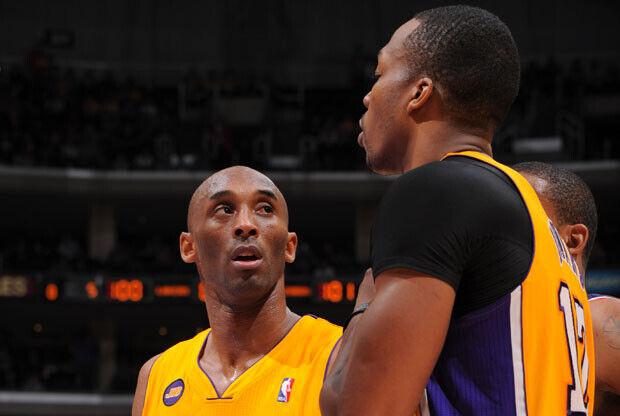 Kobe Bryant y Dwight Howard