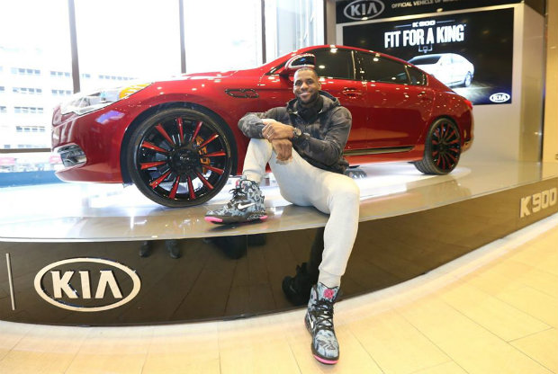 LeBron James - Kia