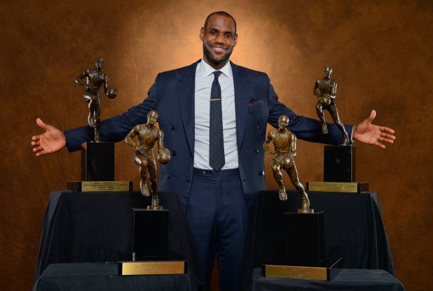 LeBron James./ Getty Images