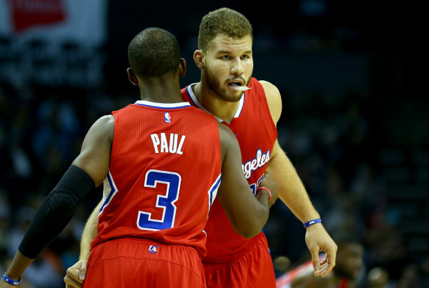 Chris Paul y Blake Griffin, jugadores de Los Angeles Clippers