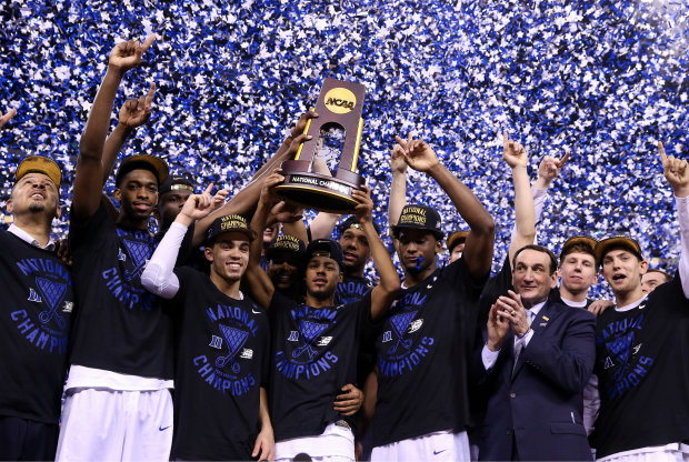 Duke, campeón NCAA./ Getty Images