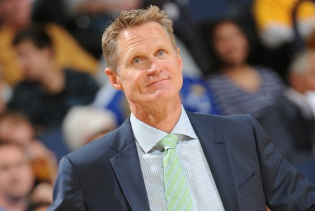 Steve Kerr./ Getty Images
