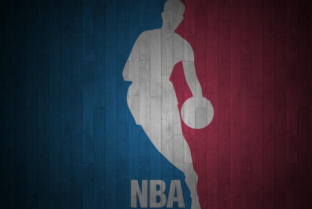 El logotipo de la NBA