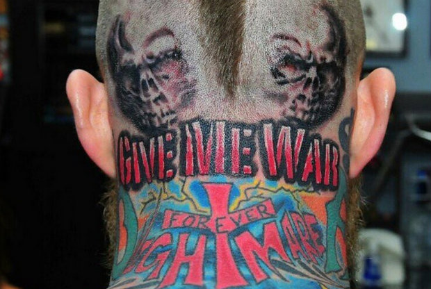 Chris Andersen - Tatuaje