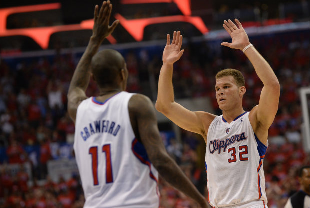 Blake Griffin y Jamal Crawford./ Getty Images