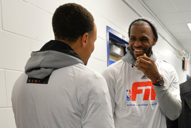 "LeBron James: ""Stephen Curry merece mucho el MVP"""