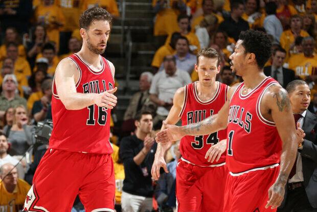Chicago Bulls arrebata el factor cancha a Cleveland Cavaliers
