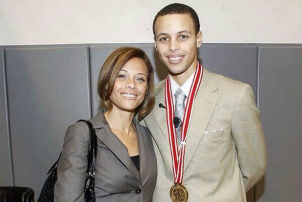 Stephen Curry y Sonya Curry