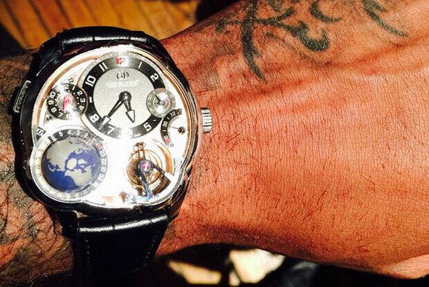 Carmelo Anthony - reloj