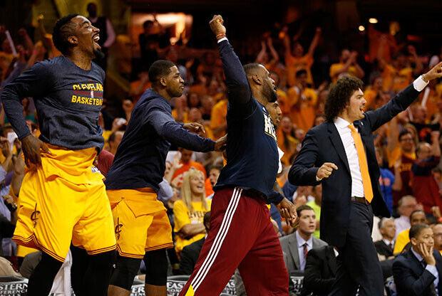 Cleveland Cavaliers arrasa a Atlanta y ya está en las Finales