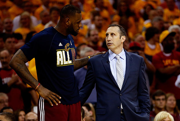 David Blatt se rinde ante LeBron James