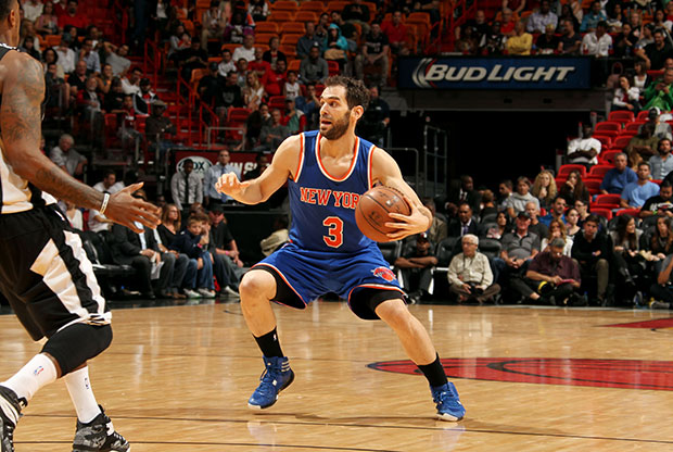 José Calderón, base de New York Knicks