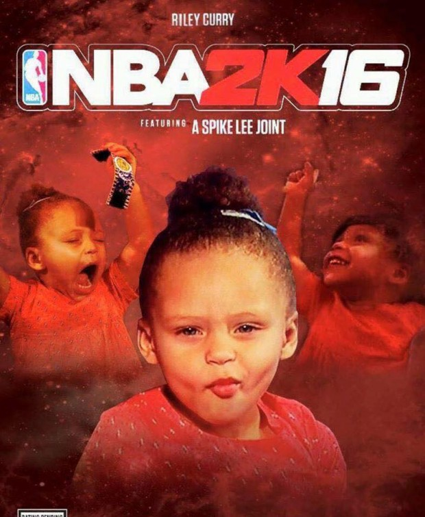 Riley Curry NBA 2K16