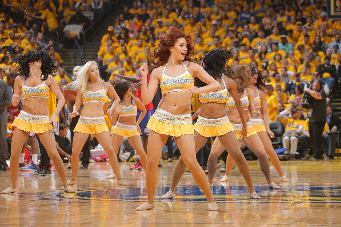Dancers Golden State Warriors