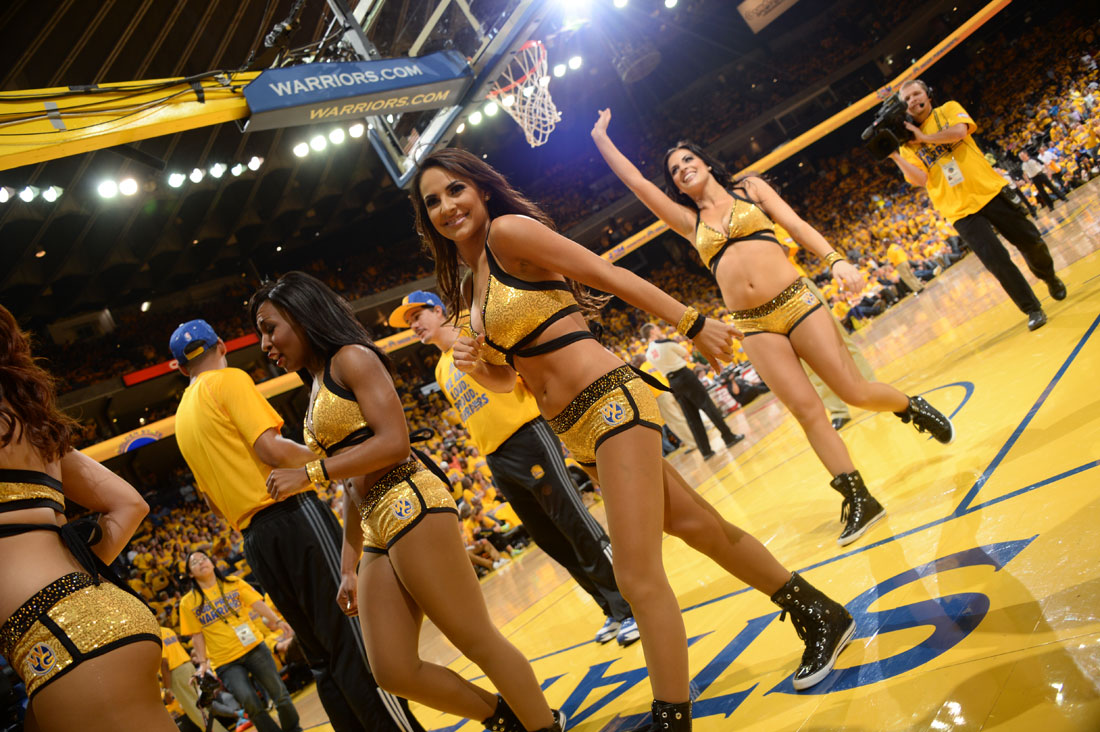 Dancers Golden State Warriors