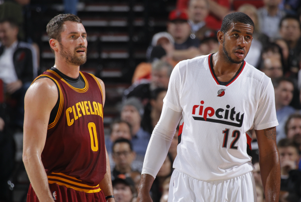 LaMarcus Aldridge y Kevin Love / Getty Images