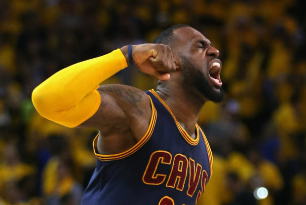 LeBron James / Getty Images